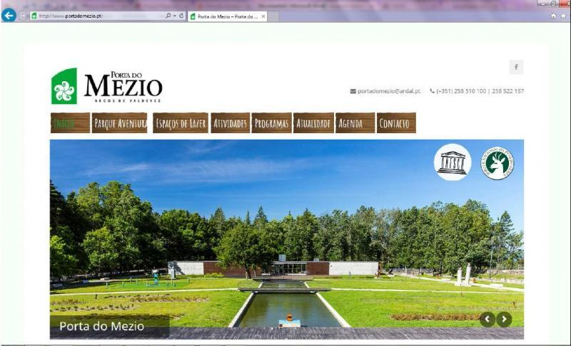 Porta do Mezio lançou novo website