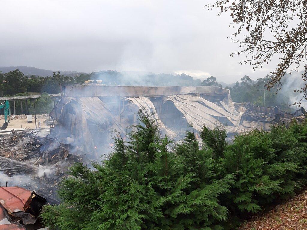 Empresas Em Arcos De Valdevez município de arcos de valdevez / incêndio no parque
